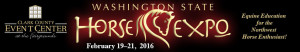 Washington State Horse Expo - Booth 214 @ Clark County Event Center | Ridgefield | Washington | United States
