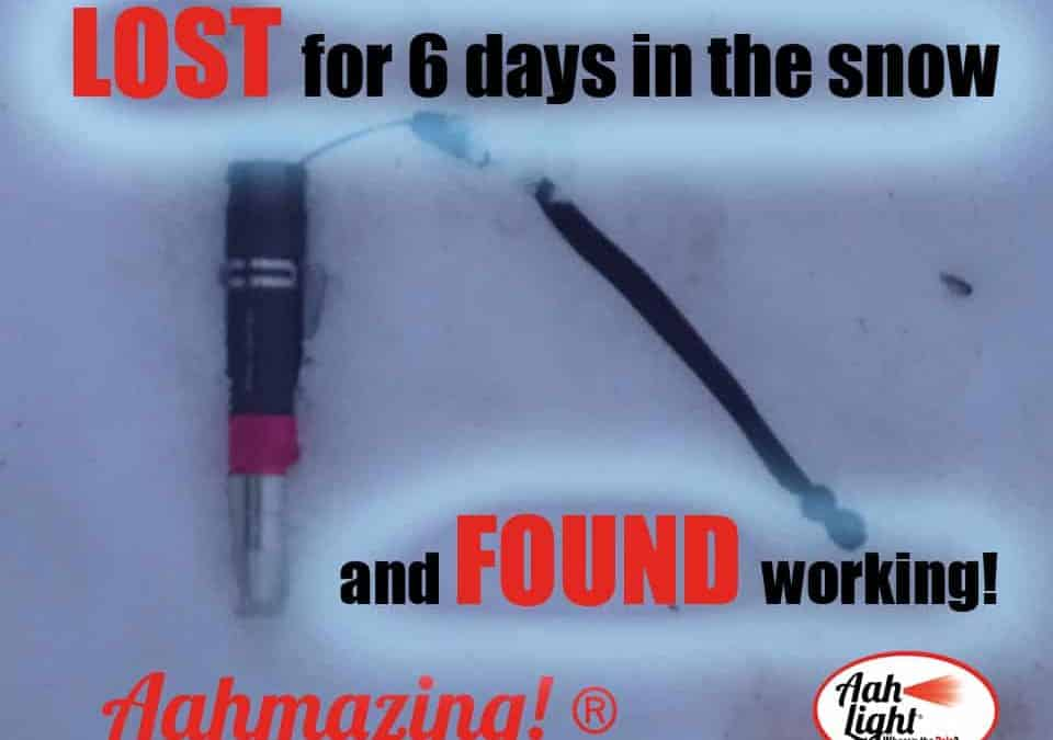 Six days in the snow – and it still works!