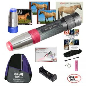 AAH Light, photonic heal, photonic therapy, AAH deluxe equine and canine package
