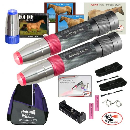AAH Light, photonic heal, photonic therapy, AAH professional equine package