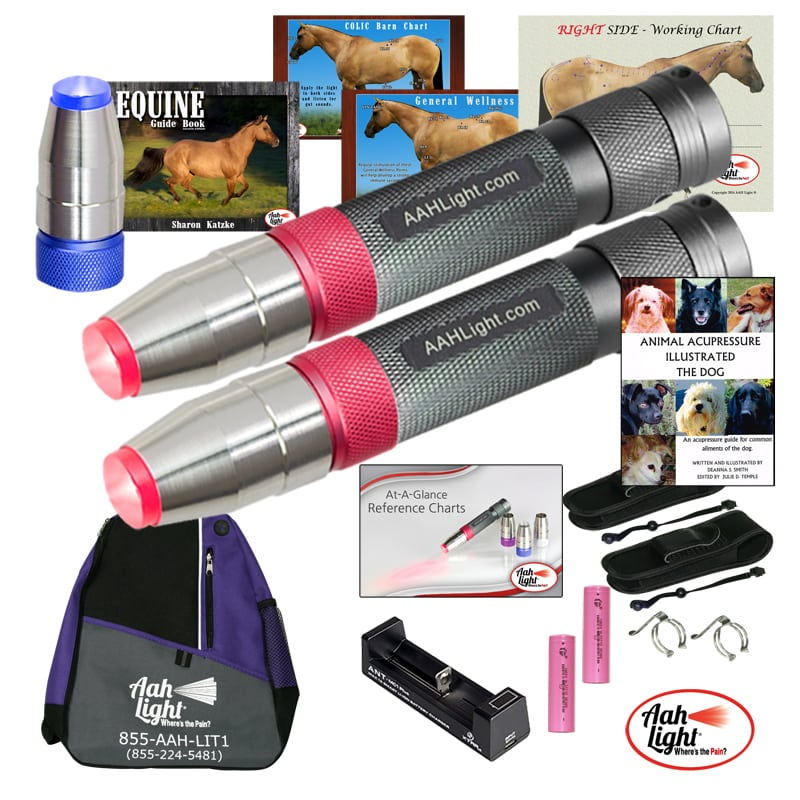 AAH Light, photonic heal, photonic therapy, AAH professional equine and canine package