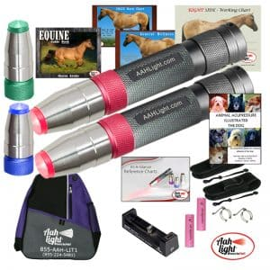 AAH Light, photonic heal, photonic therapy, AAH supreme equine and canine package