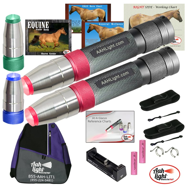 AAH Light, photonic heal, photonic therapy, AAH supreme equine package