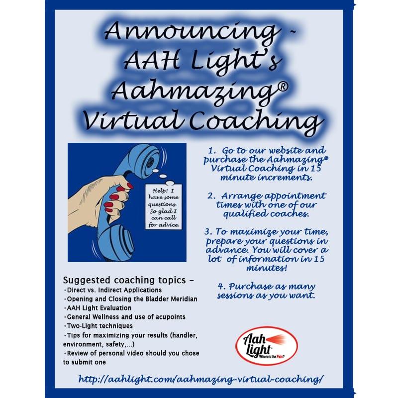 AAH Light, photonic heal, photonic therapy, AAH virtual coaching