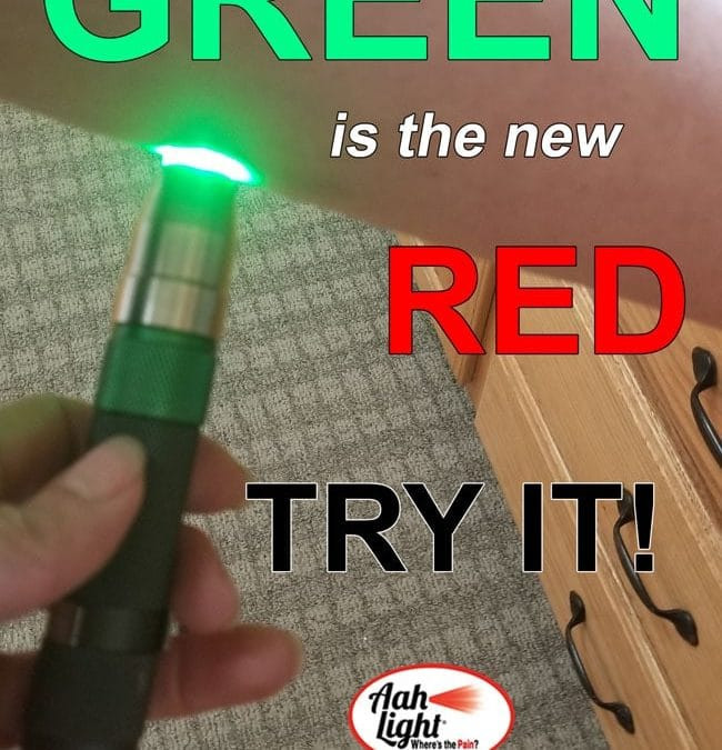 green light therapy, green aah light