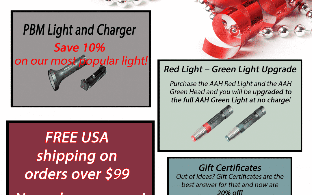 AAH Light Holiday Sale